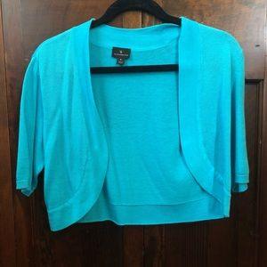 Worthington blue midi-sweater